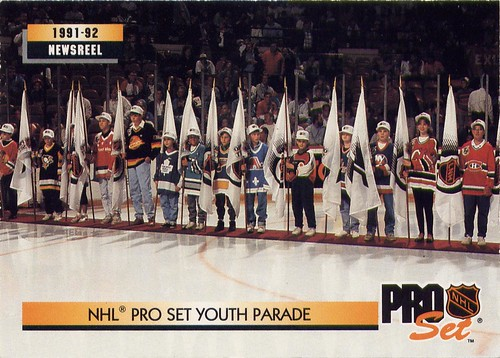 Pro-Set Youth Parade, 92-93 Pro-Set, Worst Ever Hockey Cards, NHL