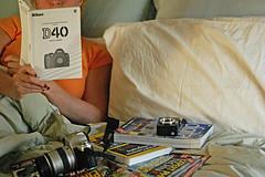 61/365 - The Manual (bethechange21) Tags: ohio 50mm nikon cincinnati geeks roulette 365 18 day61 mariemont fugger 366 d40 fgr 365days 366days threesixtyfive bethechange21 geeksinbed butimneveralone ireallydoreadthemanual notmuchgoingonhere graciebellaseetothat