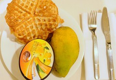 Mango and Fanny Ice-cream for Supper