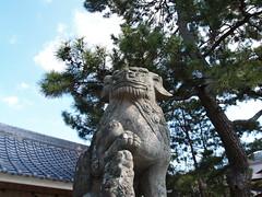 洲本厳島神社をまもる