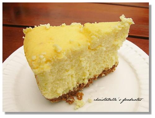 阿餅的檸檬起司蛋糕單片仔細看