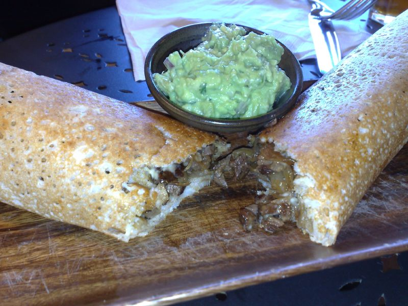 Steak dosa
