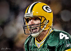 now brett favre has to walk away (Kris Kros) Tags: green history sports wisconsin digital photoshop bay hall us walk united nfl 4 quarterback fame away icon legendary packers brett american destiny hero record kris 17 halloffame years tribute states he now 2008 legend wi has retirement holder kkg favre footbal enhancement retire cs3 kros kriskros kk2k nowhehastowalkaway kkgallery