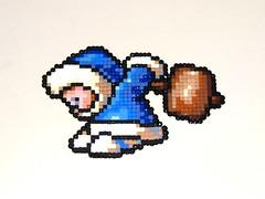 Popo Bead Sprite (Doctor Octoroc) Tags: smash brothers nintendo super videogames bros gamecube n64 popo melee supersmashbrosmelee wii iceclimbers hamabeads perlerbeads supersmashbrosbrawl beadsprite doctoroctoroc