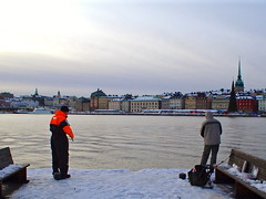 Pescadores (Marco Di Fabio) Tags: city sea panorama snow cold ice mar town fisherman europa europe mare view sweden stockholm nieve capital ciudad neve vista gamlastan capitale freddo skeppsholmen frio hielo estocolmo nord stoccolma suecia citt pescadores ghiaccio riddarholmen svezia pescatori anawesomeshot sfidephotoamatori lpwinter lprainandsnow