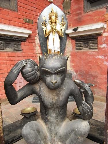 Temple in Patan, Nepal