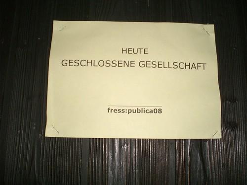 Fress:Publica 08 - Einfach sensationell!