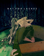 Bat for Lashes. (Annie Wu.) Tags: illustration photoshop batforlashes digitalillustration digitalcoloring furandgold