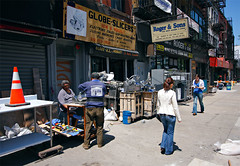 Globe Slicers, Bowery St by Dom Dada, on Flickr