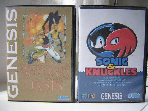 Beyond Oasis, Sonic & Knuckles