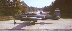 F-84G Thunderjet-ex YAF (sunburn22) Tags: war gun military serbia machine korea crew tito rocket bullet airforce usaf pilot airbase browning jugoslavia jna sfrj 127mm batajnica