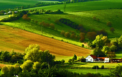 house in green landscape (dellafels) Tags: bravo searchthebest moravia themoulinrouge dellafelspic flickrsbest fineartphotos anawesomeshot impressedbeauty ultimateshot theperfectphotographer thegoldendreams qualitypixels obq