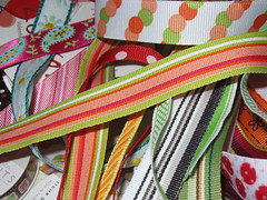 ribbons for cupcake flags