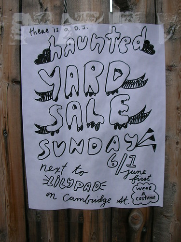 Haunted Yard Sale