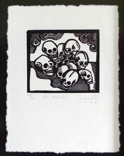 Fantastic skull print