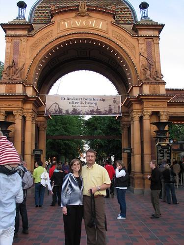 Tivoli Gardens Entrance
