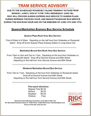 RIOC Tram Bus Schedule - 2008 June