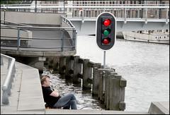 Traffic Control (Emil de Jong - Kijklens) Tags: red geotagged kanaal alkmaar rood flickrfly noordhollands noorderkade noordhollandsch ringersbrug geo:lat=5263399320010791 geo:lon=4749688890474516 ge:tilt=62859 ge:head=131133 ge:range=9711