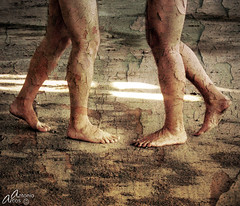 TheyDanceAlone. (AntonioArcos aka fotonstudio) Tags: espaa feet dance spain sand bravo legs arena textures clones pies antonio baile texturas palos abandonned doble piernas clonados xoxoxoxo alarecherchedutempsperdu fotonstudio antonioarcos infinestyle goldenphotographer conservera