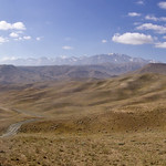 The hills around Bamyan