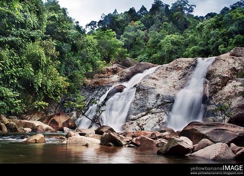 Berkelah  waterfall 05