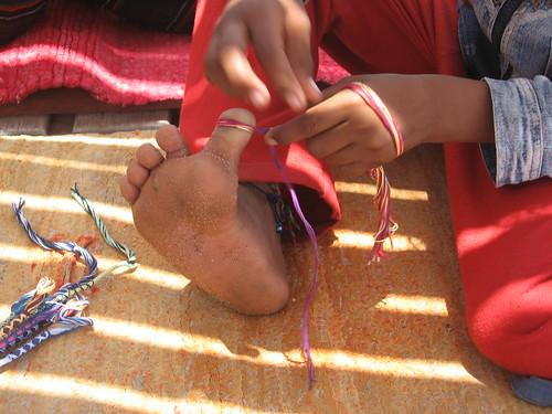 Bedouin bracelet