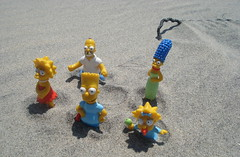 Los Simpsons En La Arena (Srch) Tags: toys bart lisa maggie homer thesimpsons marge lossimpsons