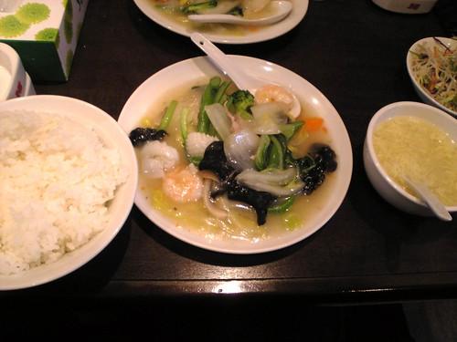 Salaray Man Lunch - はっぽうさい Chop Suey