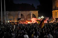 Euro 2008 Semi Finals Public Viewing at Schlossplatz, Stuttgart