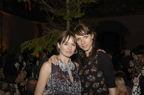 Emily Mortimer and pal at Closing Night