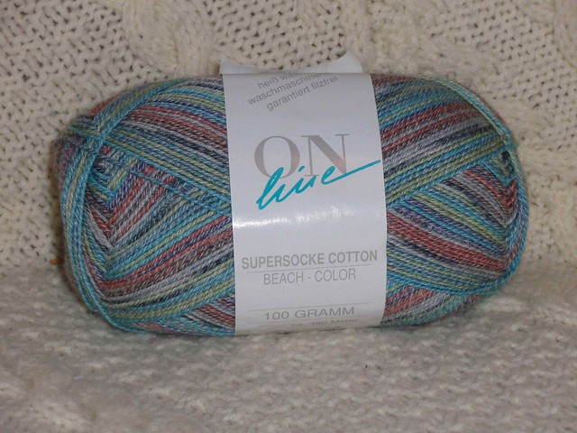 ON line Supersocke Cotton - Beach 947 by ReesieAnnPA