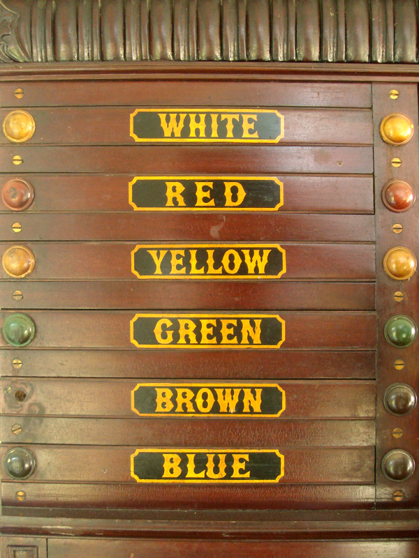 Colour Drawers
