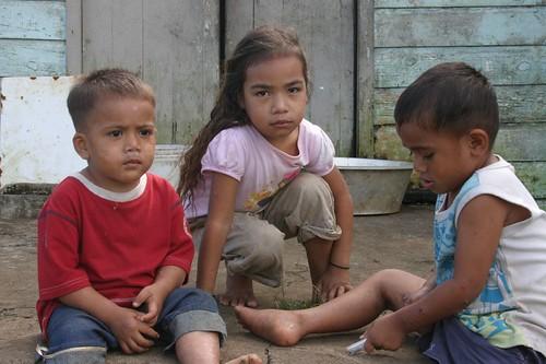 Kids from Tongatapu...