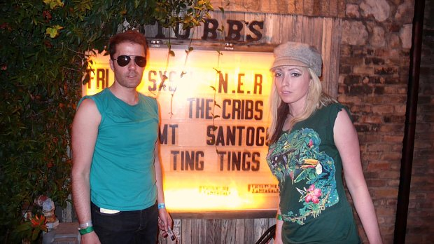ting tings at stubbs at sxsw in austin by tony pierce