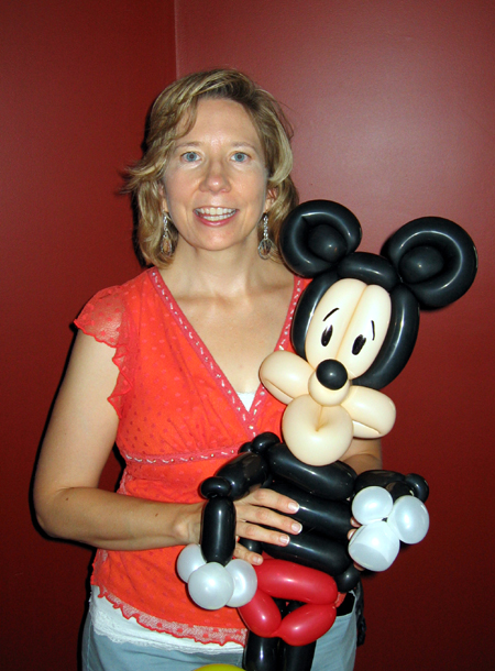 Alyce with Mickey