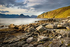 Just before ... at Elgol (Maciej - landscape.lu) Tags: world sunset sea sky sun mountains skye water colors clouds port wonderful landscape boats scotland highlands rocks isleofskye unitedkingdom wide may dramatic vivid scottish filter nd tamron 2008 cuillins isle ultra manfrotto reflects ecosse elgol cokin gradual naturesfinest blueribbonwinner 322rc2 1118mm 190v golddragon aplusphoto infinestyle thegreatshooter poseidonsdance sonyalphascotland