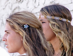 Bringing Hippies Back! (Sister72) Tags: girls hippies movie asburypark longhair nj monmouthcounty headband barrette exit102