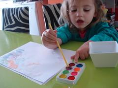 Noor schildert 1 (knoorvanwijngaarden) Tags: noor spelen