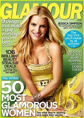 Glamour June 2008 Cover