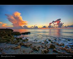 Storm Clouds at Sunrise (Fraggle Red) Tags: ocean morning pink orange cloud water sunrise dawn rocks florida limestone bec soe hdr stormcloud canonefs1022mmf3545usm jupiterisland roq wonderworld blueribbonwinner hobesound martinco outstandingshots 3exp oceanshore bej worldbest shieldofexcellence impressedbeauty ultimateshot amazingamateur blowingrockspreserve betterthangood dphdr poseidonsdance guasdivinas jupitersound novavitanewlife