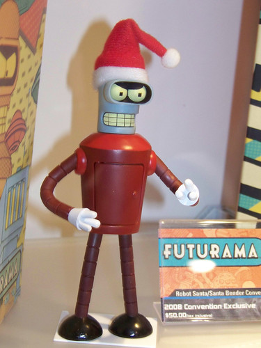 Christmas Bender action figure from Futurama