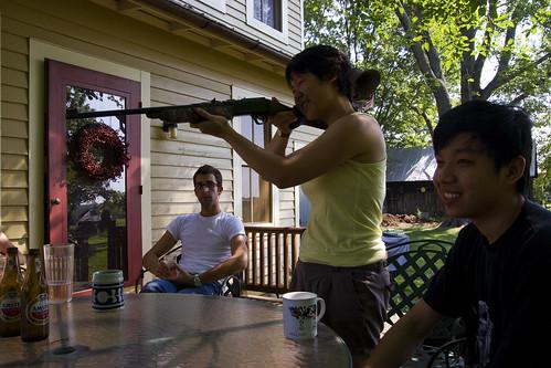 I haz a BB gun