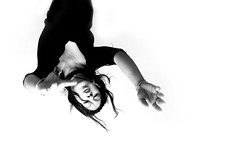 (Franca Alejandra) Tags: blackandwhite bw motion blancoynegro self pose dance danza bn muse f better dinamic francafranchi