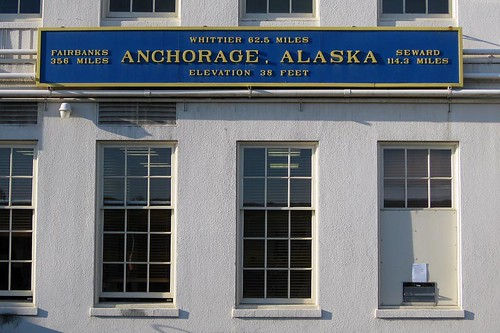 Anchorage Train Station