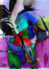 Abstract Art Mixed Media - Jewel Trap (Jose F. Sosa) Tags: original abstract art modern artwork paint artist expression abstractart contemporary fine paintings drawings canvas mexican wicked american expressionism expressionist abstraction form shape impression trap jewel selective abstractions abstracted bej awardtree josefsosa