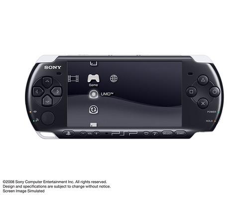 PSP-3000 - Piano Black