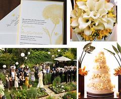 2781748207 e8f518f2b9 m Baú de ideias: Decoração de casamento amarelo
