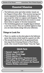 Attractions Page Sample 2