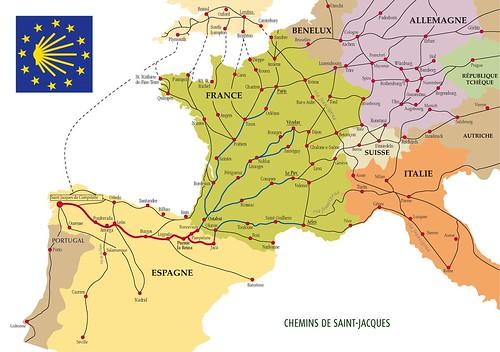 Los Caminos Franc?s e Ingl?s