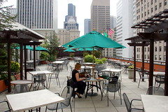Patio at the Red Lion Hotel, Seattle